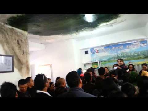 HEALING ,FELLOWSHIP AT UNITED NEPALI CHURCH TLV, ISREAL BY PASTOR PHILIP FISHERMAN