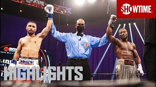 Sergey Lipinets vs. Custio Clayton: Highlights | SHOWTIME BOXING: Special Edition