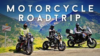 Epic Motorcycle Tour of Europe - London to the Alps 2016