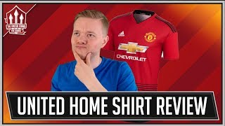 Man Utd NEW Home Kit 2018/19 Review! Worst Home Kit Ever or Looks Great?