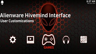 Alienware Hivemind Interface - User Customization