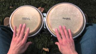 How to Play Your First Rhythm on Bongos--A Lesson for Beginners