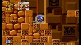 Let's Play Sonic 2 - 8 - I Hate Labyrinth Zone