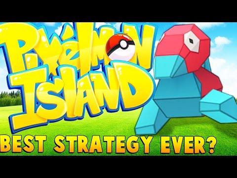 BEST POKEMON STRATEGY EVER - Minecraft Pixelmon Island - Pokemon Go