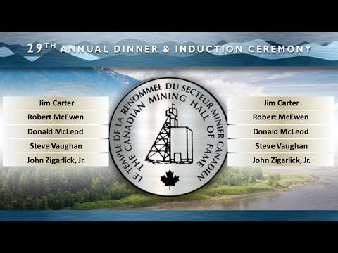 Metro Toronto Convention Centre - 29th Annual CMHF Induction - After Dinner Ceremony