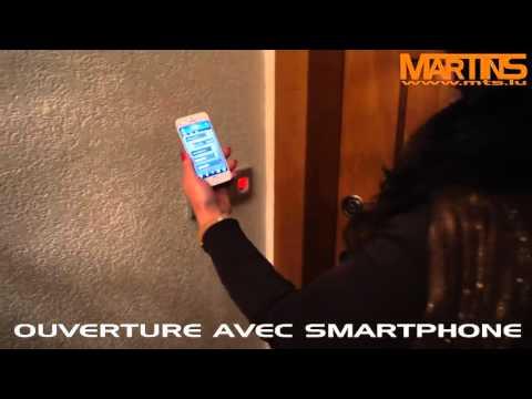 Ouverture de porte avec smartphone même à distance - Luxembourg
