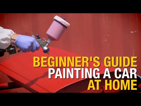 Beginner's Guide: How To Paint A Car At Home In 4 Easy Steps