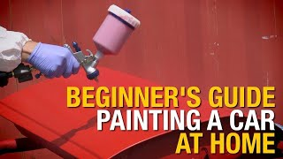 Beginner's Guide: How To Paint A Car At Home In 4 Easy Steps - Eastwood thumbnail