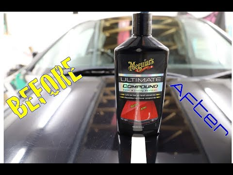THIS STUFF IS AMAZING! || Meguiar's Ultimate Compound