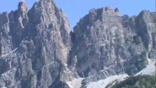 Panoramica Dolomiti di Cortina D'Ampezzo - the beauty of the Alsp - Dolomites - Italy