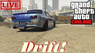 GTA 5 ONLINE - Treinando Drift e zoando na sessão! Ps4