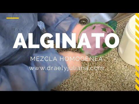 ALGINATO Mezcla Homogénea👅