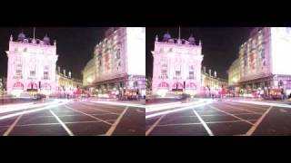 Light Painting 4D : Dynamism at Piccadilly  (full version)