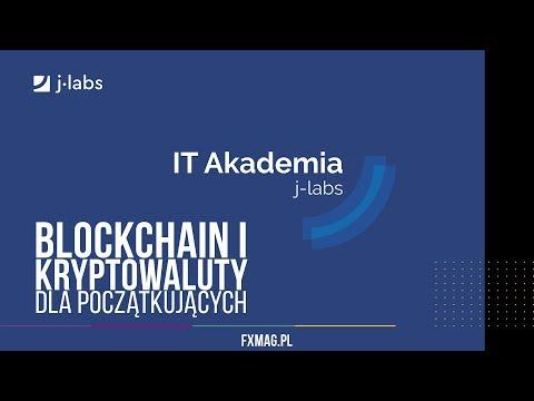 Blockchain i kryptowaluty dla początkujących LIVE | IT Akademia j-labs