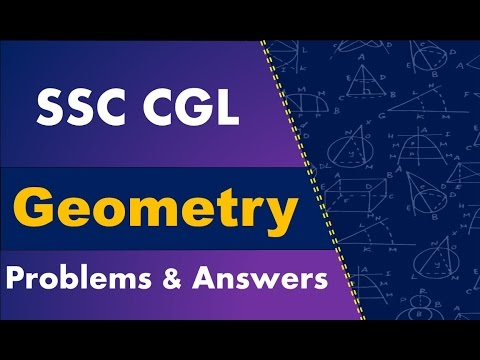 SSC CGL - Geometry Problem & Answers [Most Important]