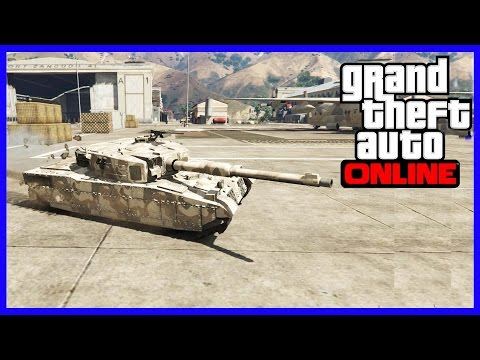Stealing a Tank! | GTA 5 Funny Moments #5