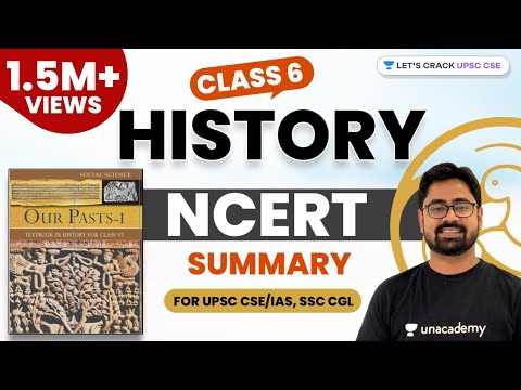 Class 6 History NCERT Summary (1/2) (Hindi) for UPSC CSE/IAS, SSC CGL