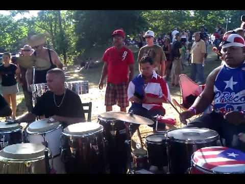 puerto rican festival 2011 rumba callejera,