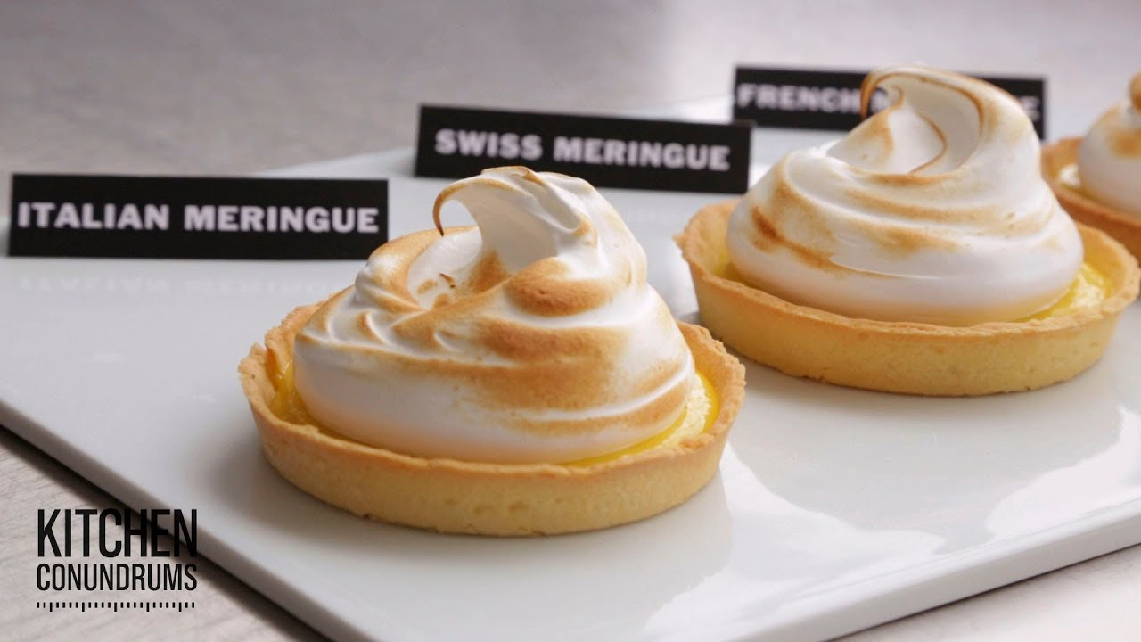 Finding the Perfect Meringue Recipe - Kitchen Conundrums