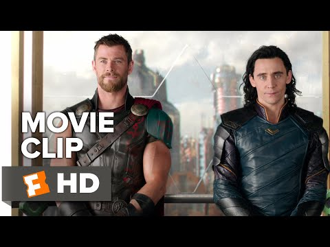 Thor: Ragnarok Movie Clip  Get Help 2017  Movieclips Coming So