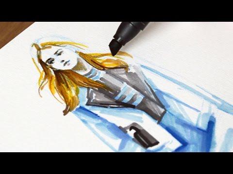 Cobalt Blue/ 코발트 블루(Drawing ASMR)