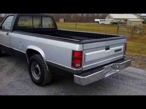 1987 dodge dakota le truck v6 2wd original 70 250 miles. Black Bedroom Furniture Sets. Home Design Ideas