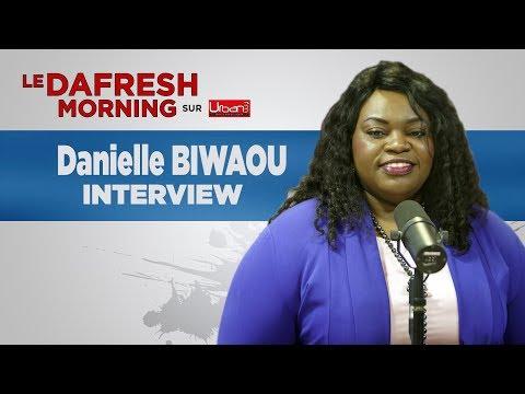 Danielle Biwaou parle des assises de l'entreprenariat à la chambre de commerce du Gabon
