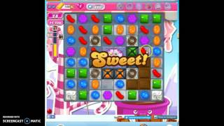 Candy Crush Level 486 help w/audio tips, hints, tricks