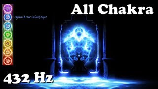 Chakra 432 Hz Ultimate All Chakra Tuning, Balancing 15 minute daily.mp3