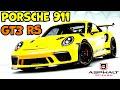 Asphalt 9 Porsche 911 GT3 RS Full Max Gameplay