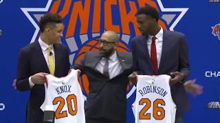 🚨LIVE: New York Knicks Introduce 2018 NBA Draft Picks