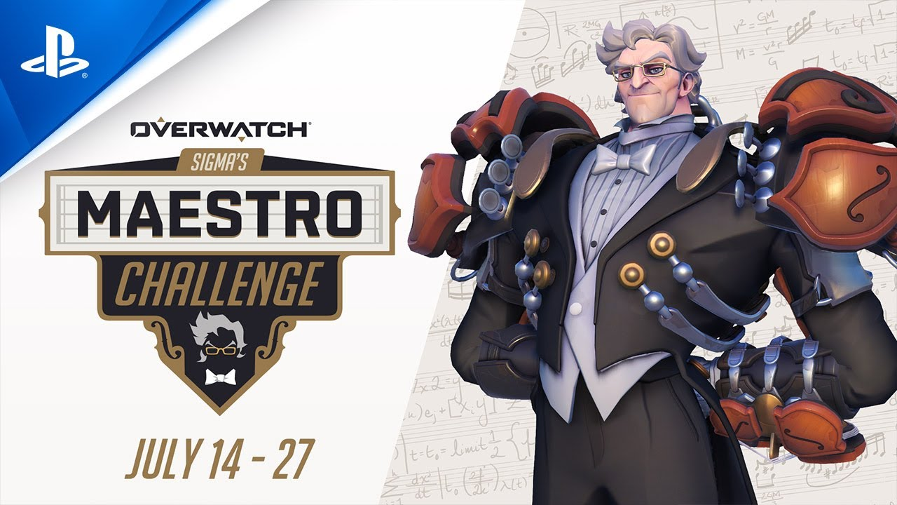 OVERWATCH: Release Date Announcement - Sigma's Maestro Challenge - PS4