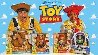 Toy Story Signature Collection Toy Challenge + Jesse & Woody ! || Toy Review || Konas2002