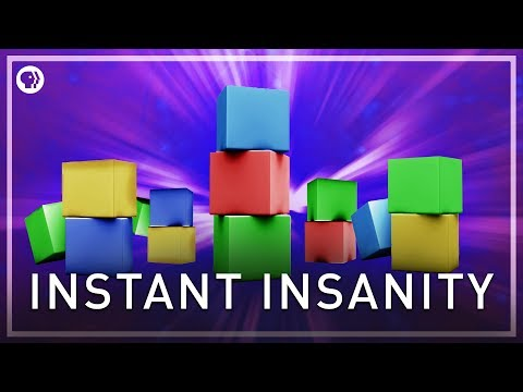 Instant Insanity Puzzle | Infinite Series