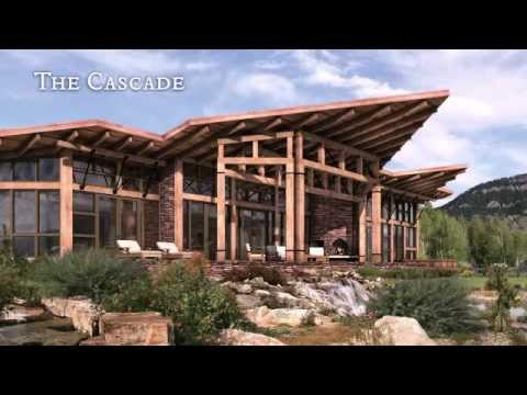 Modern timber frame home youtube for Contemporary timber homes