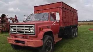 BigIron Auctions 1980 GMC 7000 Grain Truck