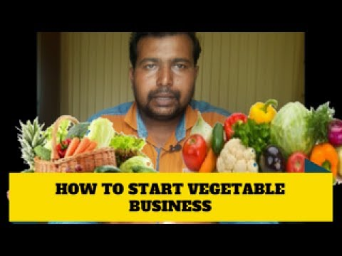 How to start vegetable  business