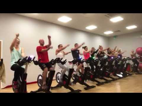 Baby shark Spin class cool down
