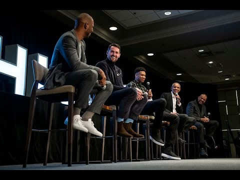 [Obama Foundation] President Obama in conversation with Giannis Antetokounmpo, Kevin Love, and Chris Paul