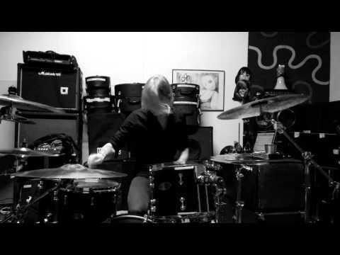 Rolf Pilve Rehersal DrumCam - Abandon (Stratovarius) - Lumia 930
