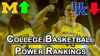 College Basketball Power Rankings: Michigan Rises