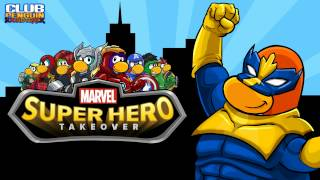 Club Penguin Music OST: MARVEL Super Hero Takeover Main Theme