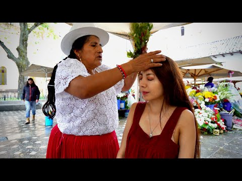 Doña Rosa At The Flower Market: Limpia Espiritual (Spiritual Cleansing) And ASMR Massage