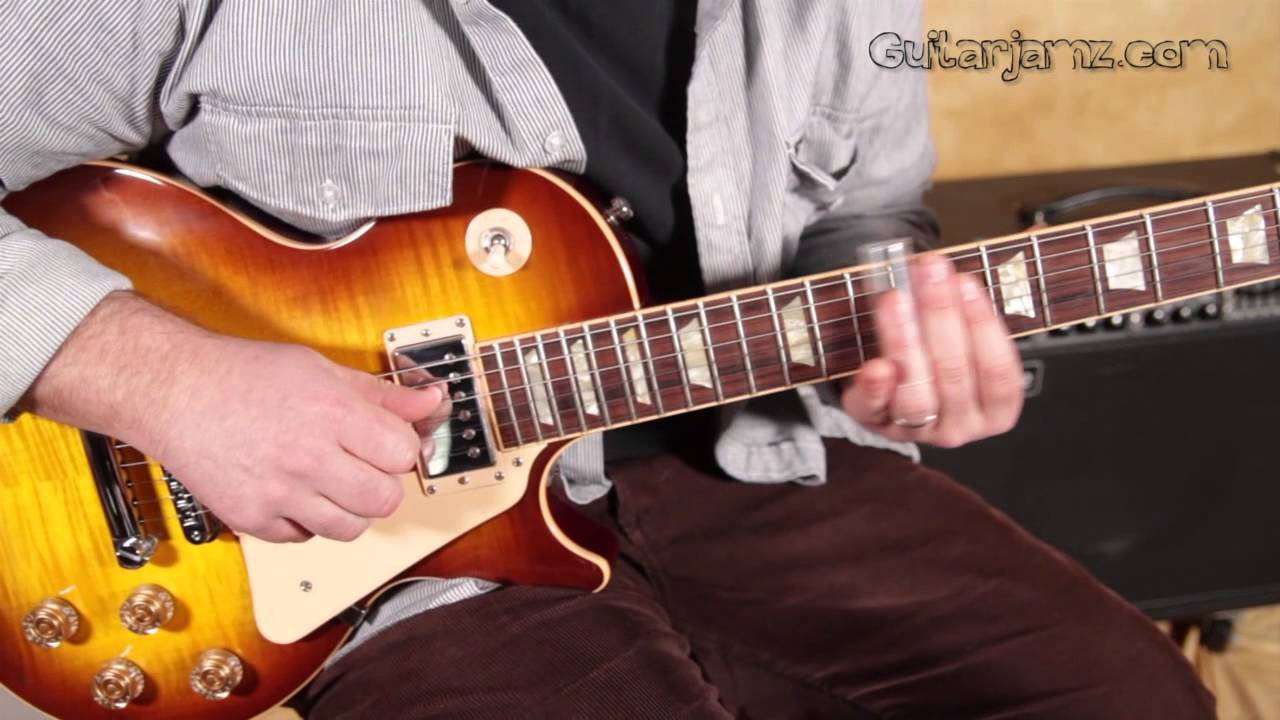how to play the slide guitar intro from free bird by lynyrd skynyrd youtube. Black Bedroom Furniture Sets. Home Design Ideas