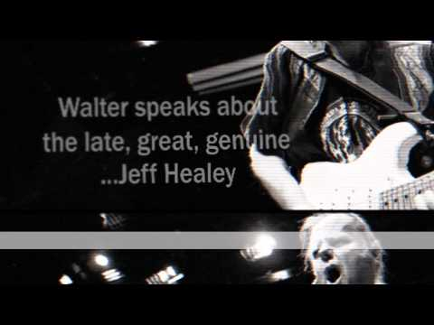 29. Walter Trout speaks about video recording WORKING OVERTIME with Jeff Healey