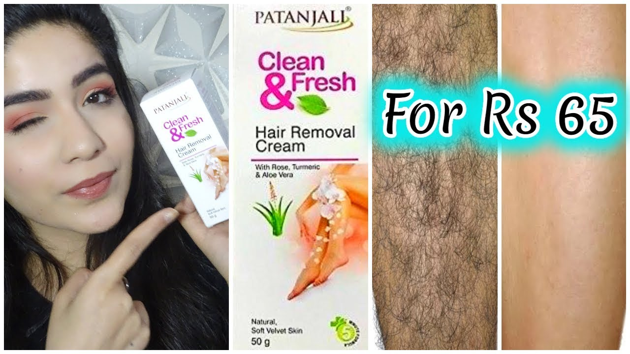 Patanjali Hair Removal Cream Review Patanjali Hair Remover