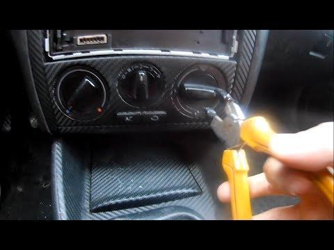 VW GOLF 4 HEIZUNGSREGLER AUSBAUEN / WECHSELN TUTORIAL