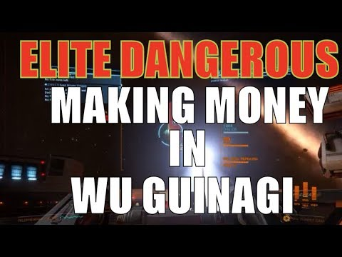 Elite: Dangerous Wu Guinag System Making Money & imperial rank