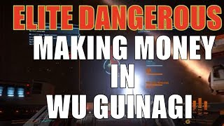 Elite: Dangerous Wu Guinagi System Making Money & imperial rank