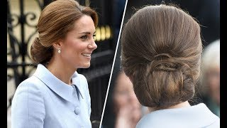 This is why Kate Middleton likes to wear hairnet - Duchess of Cambridge style